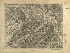 Kałusz i Halicz. 4373 : podziałka 1:100.000