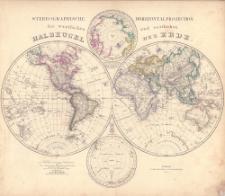 Neuer Atlas der ganzen Erde für die gebildeten Stände und für Schulen : fünfundzwanzig Karten mit Berücksichtigung der geographisch-statistischen Werke
