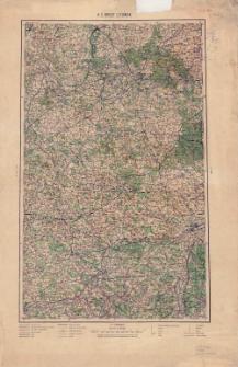 H 3. Brest Litowsk : podziałka 1:400 000