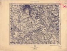 Pas 40 Słup 32 Warszawa Płd. : 1:100 000