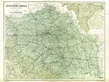 Karta vostočnoj Galicii sostavlena soglasno novejšim dannym