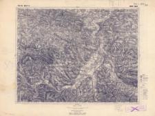 Pas 50 Słup 31 Nowy Sącz : skala 1:100 000