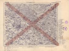 A 45 B 25, 451. Brieg (Brzeg) : terytorjum państwa niemieckiego : podziałka 1:100.000