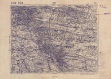 A 49 B 38 Lwów 4072 : podziałka 1:100.000