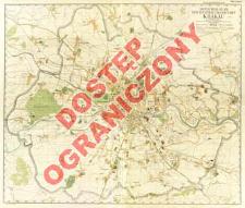Amtlicher Plan der Regierungsstadt Krakau : im Maßstab 1:20 000
