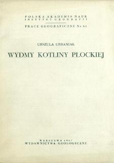Wydmy Kotliny Płockiej = Dunes of the Płock Basin = Djuny v Plockoj Kotlovine