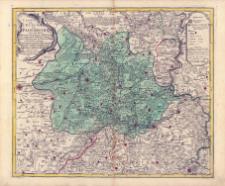 Carte De L'Evêché De Paderborn avec une Partie de Westphalie, du Princip. de Waldeck du Landgraviat de Hesse-Cassel, du Duché de Brounsvic de l'Abb: de Corvey et du Comté de Lippe
