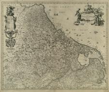 Novissima et accuratissima XVII Provinciarum Germaniæ Inferioris delineatio