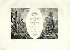 Voyage en Angleterre et en Russie, pendant les années 1821, 1822 et 1823 : atlas