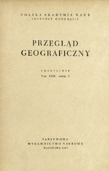 Przegląd Geograficzny T. 29 z. 3 (1957)
