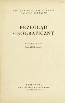 Przegląd Geograficzny T. 28 z. 3 (1956)