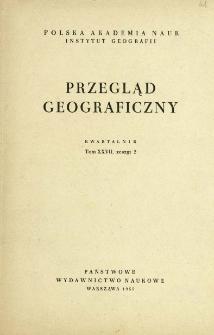 Przegląd Geograficzny T. 27 z. 2 (1955)