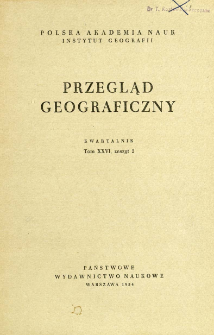 Przegląd Geograficzny T. 26 z. 2 (1954)
