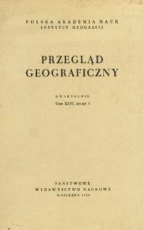 Przegląd Geograficzny T. 26 z. (1954)