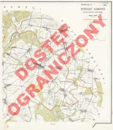 Powiat Gostyń : województwo poznańskie : skala 1:25 000