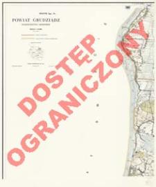 Powiat Grudziądz : województwo bydgoskie : skala 1:25 000