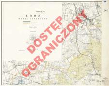 Powiat Łódź : okręg centralny : skala 1:25 000