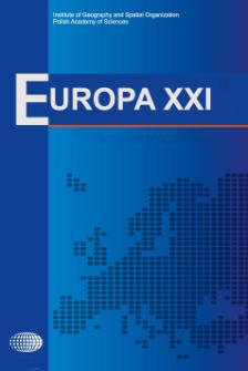 Europa XXI 37 (2019), Contents
