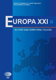 Europa XXI 38 (2020), Contents