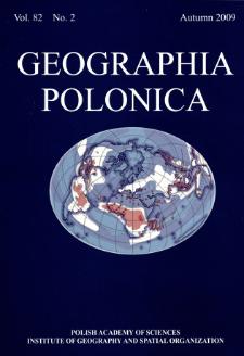 Geographia Polonica Vol. 82 No. 2 (2009), Contents