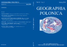Geographia Polonica Vol. 83 No. 1 (2010), Contents