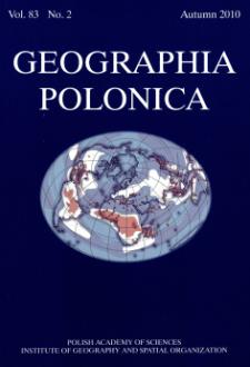 Geographia Polonica Vol. 83 No. 2 (2010), Contents