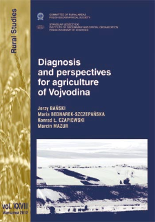 Diagnosis and perspectives for argriculture of Vojvodina
