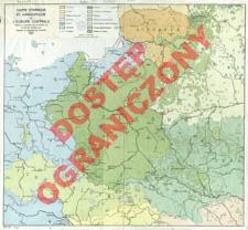 Carte ethnique et linguistique de l'Europe centrale