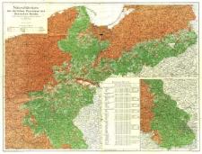 Nationalitätenkarte der östlichen Provinzen des Deutschen Reichs nach den Ergebnissen der amtlichen Volkszählung vom Jahre 1910