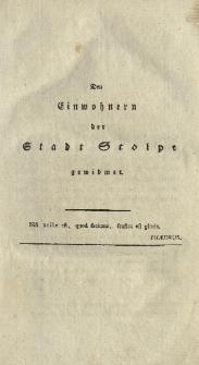 Kurze historisch- geographisch- statistische Beschreibung von dem königlich-preussischen Herzogthume Vor- und Hinter- Pommern