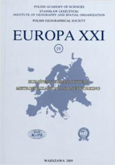 Europa XXI 19 (2009), Contents