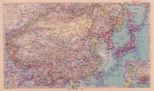 China und Japan : Maßstab 1:18 000 000