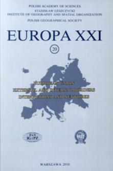 Europa XXI 20 (2010), Contents