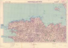 Der Kanal 1:250 000. Blatt Nr. 4, Zusammendruck Lannion - Rennes