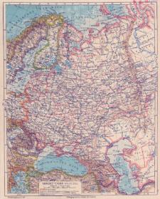 Sowjet-Union : westl. Teil : Maßstab 1:15 000 000