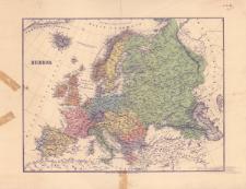 Europa : [mapa polityczna]