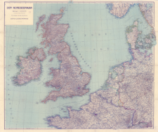 Der Nordseeraum : Maßstab 1:1 500 000 : Grundlage: Stielers Handatlas