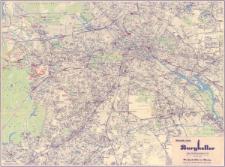 Olympia -Stadtplan von Berlin : Maßstab 1:25 000