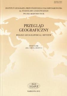 Analiza międzynarodowych czasopism geograficznych ze szczególnym uwzględnieniem geografii społeczno-ekonomicznej = Analysis of international geographical journals with particular emphasis on socio-economic geography