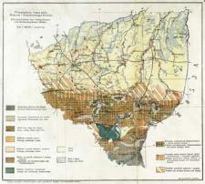 Przeglądowa mapa gleb Wołynia i południowego Polesia : skala 1:800 000