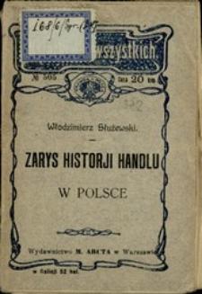 Zarys historji handlu w Polsce