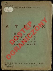 Atlas : eksportu, importu surowców światowych