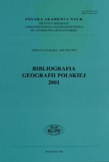 Bibliografia Geografii Polskiej 2001