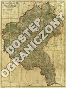 Województwo poznańskie : podziałka 1:300 000