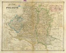 Carte routiere, historique et statistique des états de l'anciene République de Pologne indiquant sen étendue teritoriale avant le premier partage en 1772 avec les divisions établies en 1815 á l'epoque du sixiéme partage de ce pays consommé dans le congrés de Vienne et les changemesarrivés en 1844 et 1846