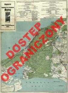Wegekarte der Umgebung des Ostseebades Misdroy