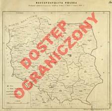 Rzeczpospolita Polska : podział administracyjny z dnia 1 lipca 1947 roku