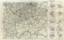 G. Freytag & Berndt Autostrassenkarten. Blatt 21, Troppau (Opava) - Krakau (Kraków) = G. Freytag & Berndt cartes routières. Feuillet 21, Troppau (Opava) - Krakau (Kraków) = G. Freytag & Berndt auto road maps. Sheet 21, Troppau (Opava) - Krakau (Kraków)