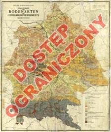 Übersichtskarte der Bodenarten des Generalgouvernements : Maßstab 1:500.000