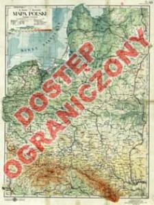 Mapa Polski : podziałka 1:2 500 000
